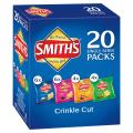Smiths Chips Crinkle Cut Variety Pack 20