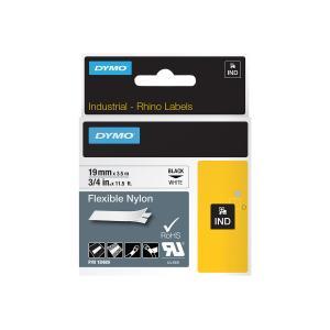 Industrial Tape Flexible Nylon 19mm White