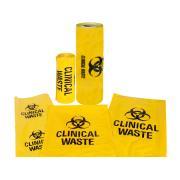 Austar Printed Clinical Waste Bag 130 Litre Carton 200
