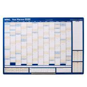 Winc 2022 Doublesided Recycled Year Wall Planner 445 x 665mm