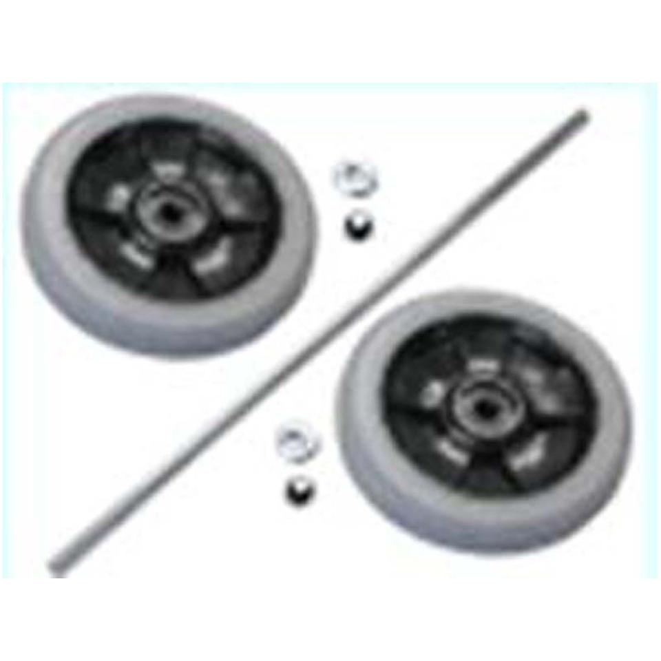 Rubbermaid Commercial Wheel and Axle Parts for Rubbermaid Commercial Cleaning Carts