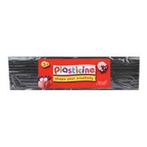 Colorific Plasticine Education Pack 500gm - Black Image