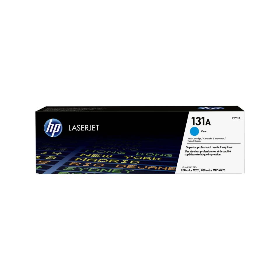 HP LaserJet 131A Cyan Toner Cartridge - CF211A