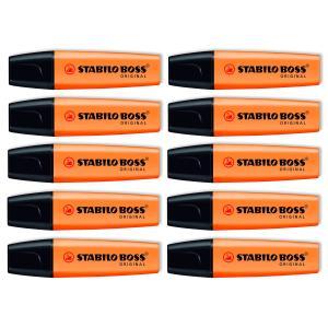 Stabilo Boss Highlighter Orange Box 10
