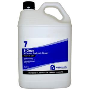 Peerless JAL S-Clean Sanitiser 5 Litre