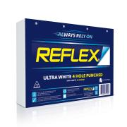 Reflex Copy Paper 4 Hole Punched A4 Ultra White 500 Sheet