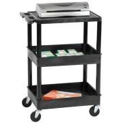 Tuffy 1 Shelf/2 Tub Trolley