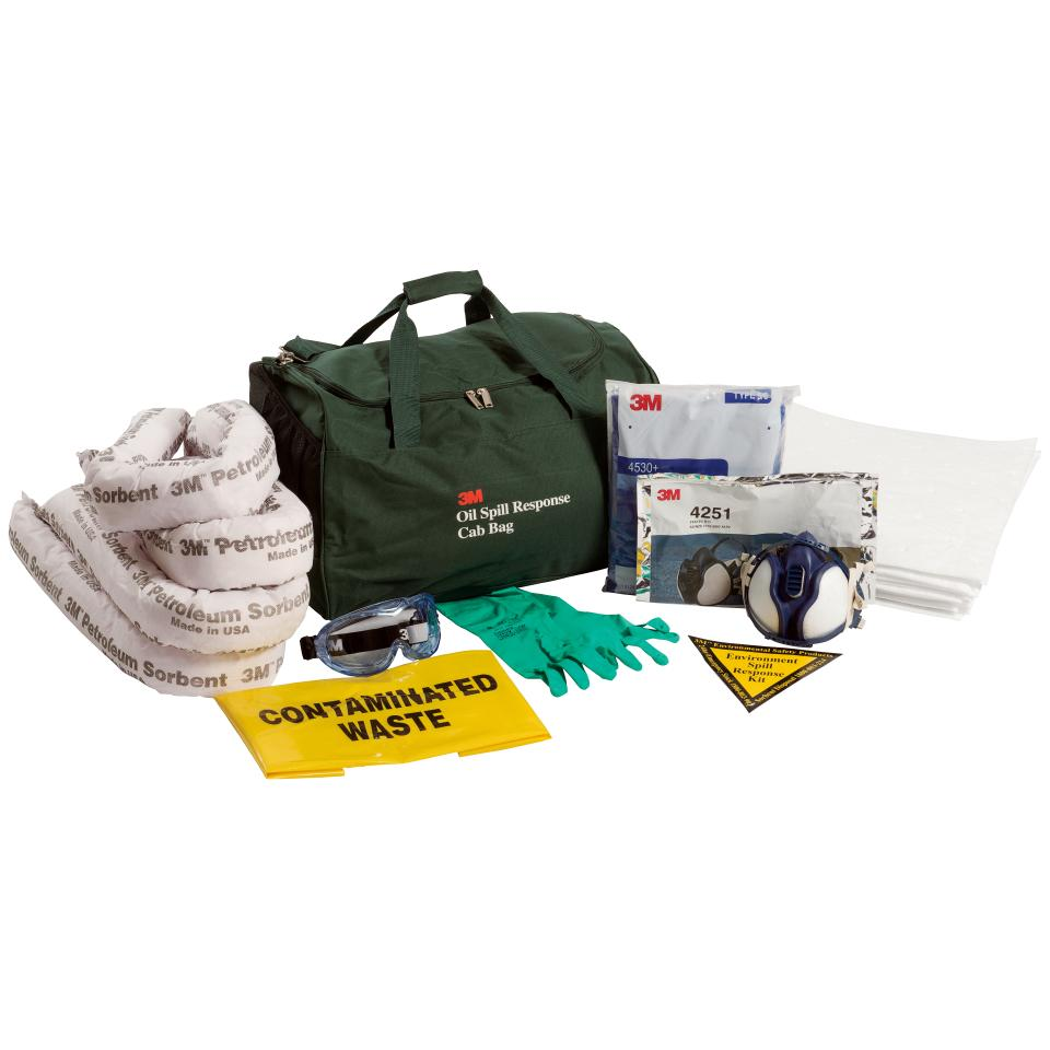 3M Oil & Petroleum Spill Kit Cabin Bag 25 Litre