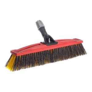 Sabco 450mm Colour Coded Broom Head Medium Fill Red