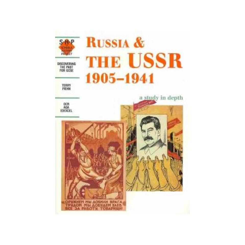 Hodder Russia & The USSR 1905-1941 Study In Depth 1st Ed Author Terry Fiehn