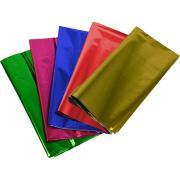 Teter Mek Cellophane 500x750mm Metallic Assorted Colours Pkt 25