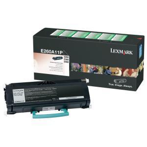 Lexmark E260A11P Black Toner Cartridge