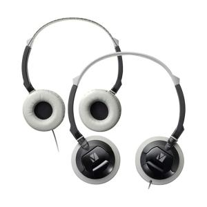 Verbatim Headphones V100 On Ear Lightweight Black