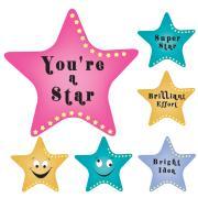 Avery Merit and Reward Stickers Super Stars 30 mm diameter Pack 100