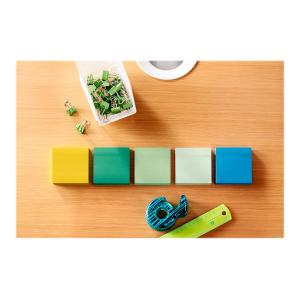 Post-It Super Sticky Notes Bora Bora Collection 76 x 76mm Pack 5