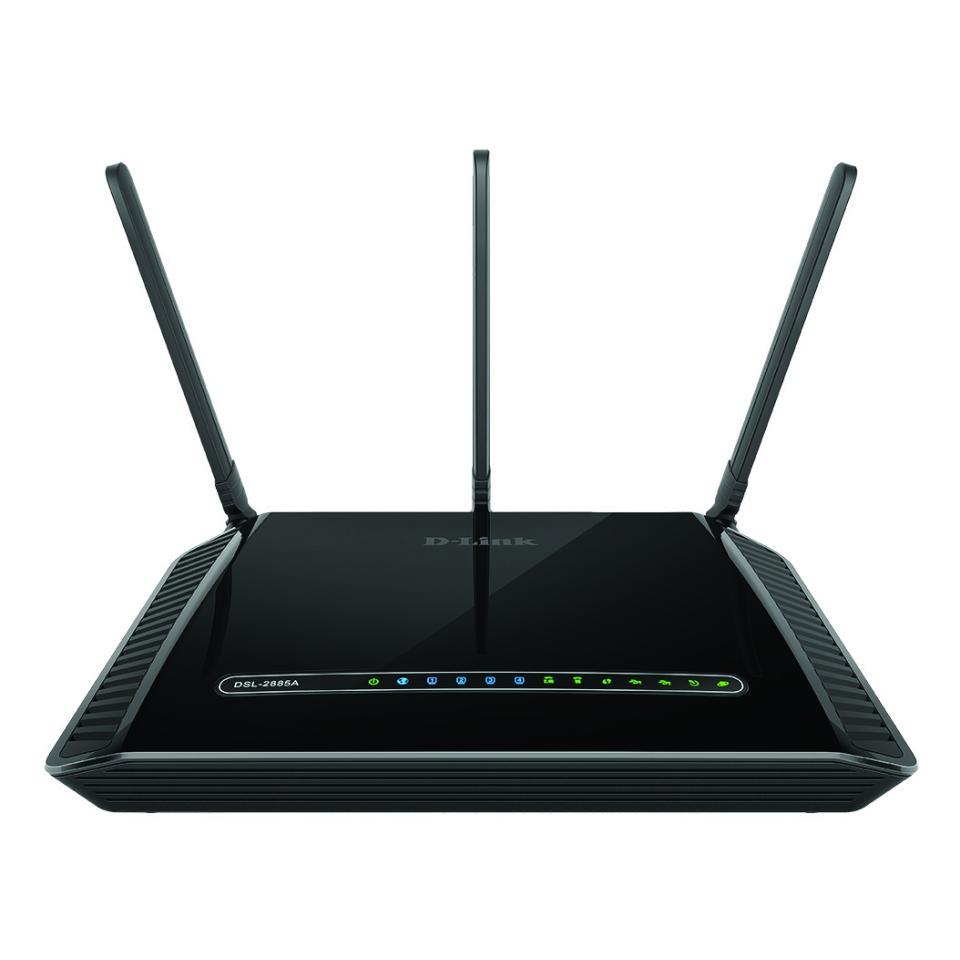 D-Link Dsl-2885A Wireless Ac1200 Dual-Band Gigabit Adsl2+/Vdsl Modem Router