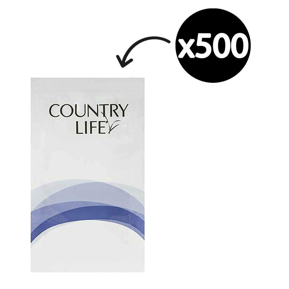 Country Life Shampoo & Conditioner Sachet 8ml Carton 500