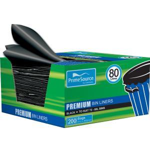 Castaway CA-Hdbl009Bx Easy Pick Bin Liner 80L Box200