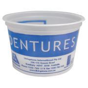 Livingstone Plastic Denture Cup 250ml Pkt 50