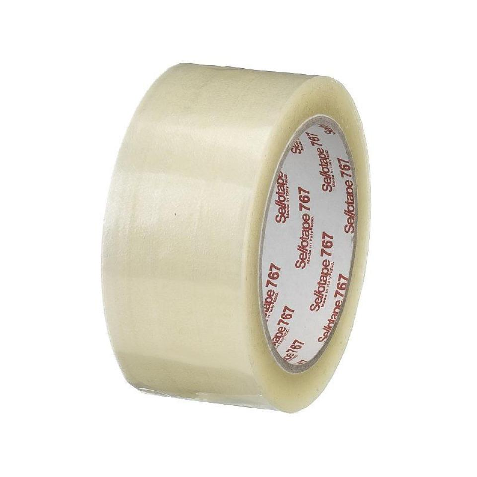 Sellotape 767 Packaging Tape Clear 38mmx75m