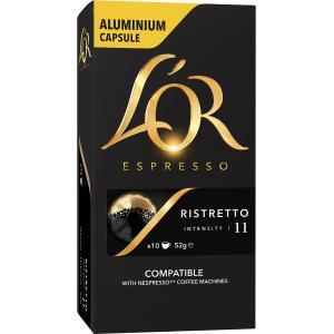 L'OR Espresso Ristretto Coffee Capsules Box 10