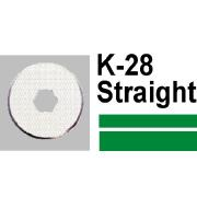 Carl Replacement Straight Cutter K-28 Pk2