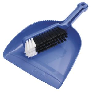 Oates B-10207 Dustpan And Bannister Plastic Blue