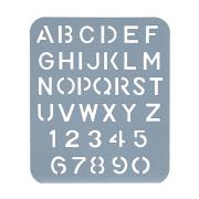 Esselte Lettering Stencil 25mm