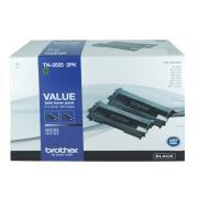 Brother TN-2025-2PK Black Toner Cartridge - 2-Pack