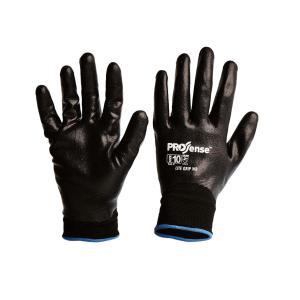 Prosense Lite-grip Full Dip Water Repellant Nitrile Foam On Nylon Liner Gloves
