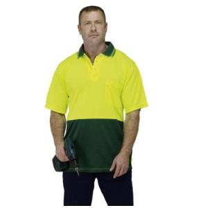 Airtec Fluro Orange/Navy Short Sleeve XL