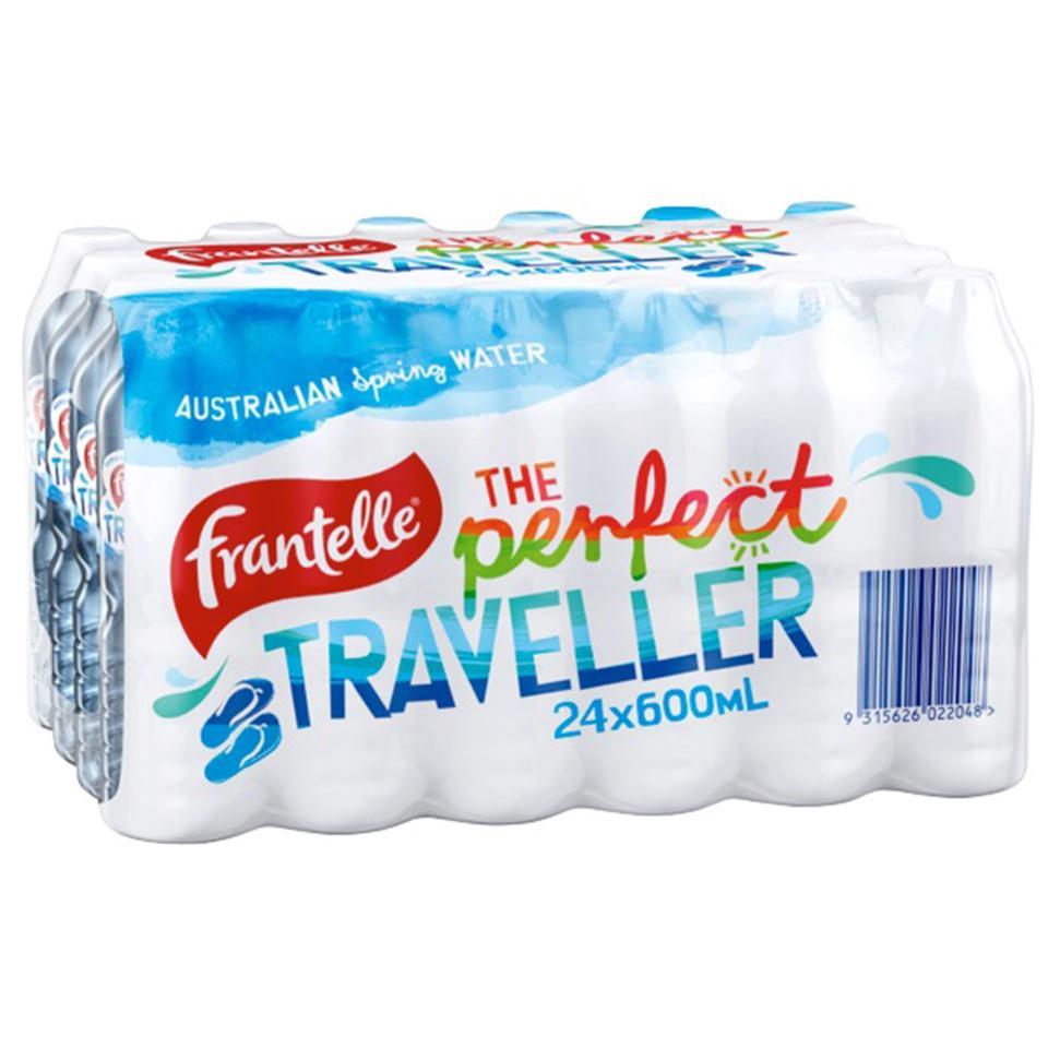 Frantelle Water 600ml Carton 24