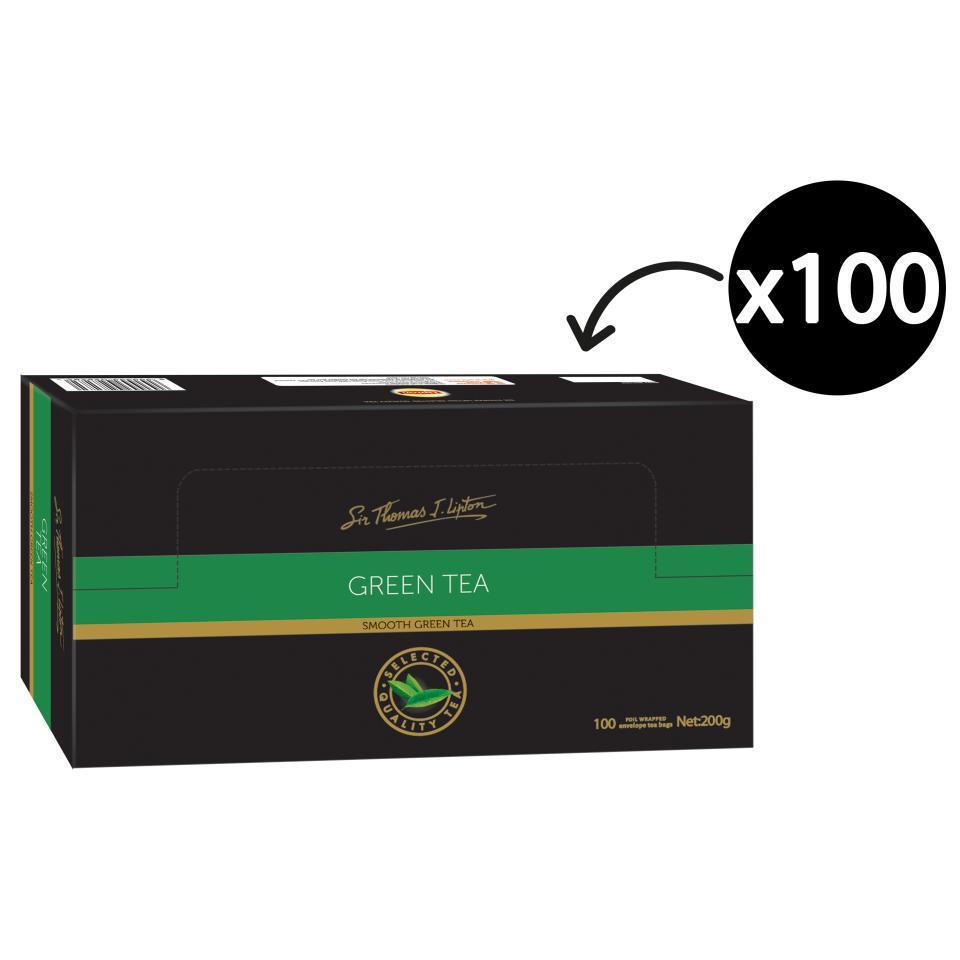 Sir Thomas Lipton Green Tea Box 100