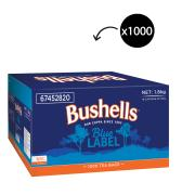 Bushells Black Tea Bags Carton 1000