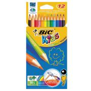 BIC Kids Evolution Coloured Pencil Pack 12