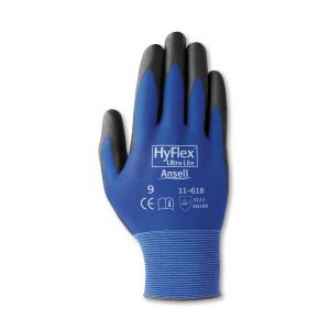 Ansell HyFlex 11-618 Ultra Lightweight General Purpose Gloves Pack 12