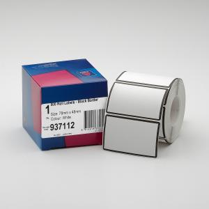 Avery Black Border Roll Label 78X48mm-500 Labels Per Roll ...