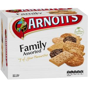 Arnotts Family Assorted Plain Biscuits 1.5kg