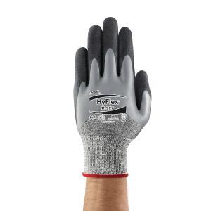 Ansell 11-927 Hyflex Gloves Wet Grip Palm Grey Pair