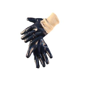 Safechoice Gloves Nitrile Coated Black Knit Cuff Size 10 Pair 12 Pack