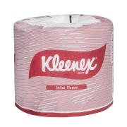 Kleenex 4735 Toilet Tissue Roll 2 Ply 400 Sheets White Pack 48