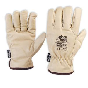 Pro Choice Pgl41Tl Riggamate Lined Pig Grain Rigger Gloves Size L Pair