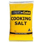 Black & Gold Salt Cooking 2kg