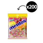 Mentos Fruit Mints Individually Wrapped 540g