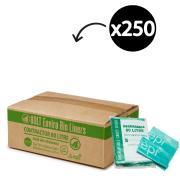 Austar Bin Liners Heavy Duty Degradable 80 Litre Green Packet Carton 250