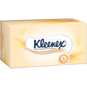Kleenex 0291 Aloe Vera Tissues Box/95