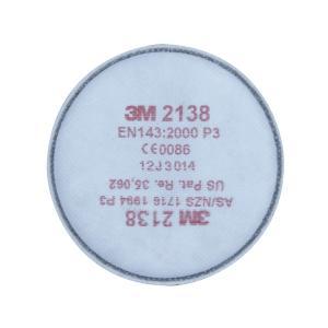 3m Particulate Disc Filter Gp2/Gp3 2138 Filter Pair