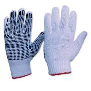Pro Choice 342Kpdbl Knitted Poly/Cotton Dot Grip Gloves- Ladies Pair