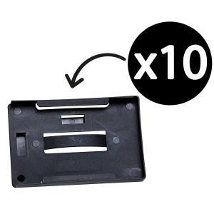 Rexel ID Multi Card Holder Landscape/Portrait Black Pack 10