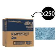 Kimberly Clark Epic 4155 Wipers Heavy Duty 42cmx34.5cm Blue Carton 250